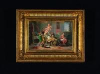 deux scènes pompeiennes (2 works) by felix fossey