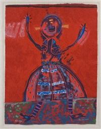 mujer en grito by fernando andriacci