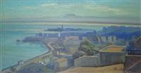 vue du port d'alger by roméo aglietti