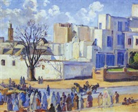 le marché by armand jacques assus