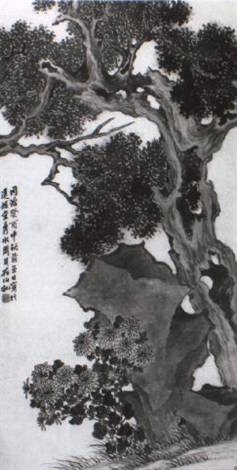 landscape by zhou xun