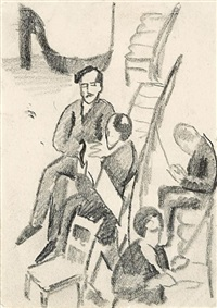 pause by august macke
