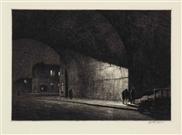 arch, midnight by martin lewis