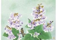 paulownia.flowers by hoshun yamaguchi