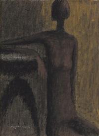 woman figure by kiyoshi saito