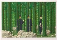 les enfants trouves (portfolio of 12) by rené magritte