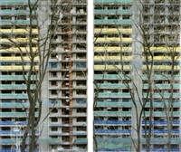 seoul- monuments # 4, diptyque n°1 (diptych) by stéphane couturier