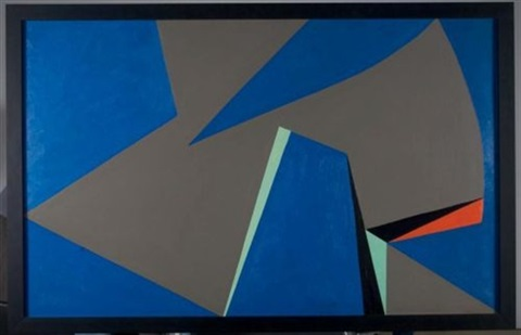 magic space forms by lorser feitelson