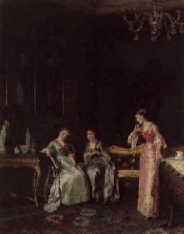 the elegant gossips by albert raudnitz