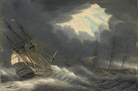 shipping in stormy waters by engel hoogerheyden