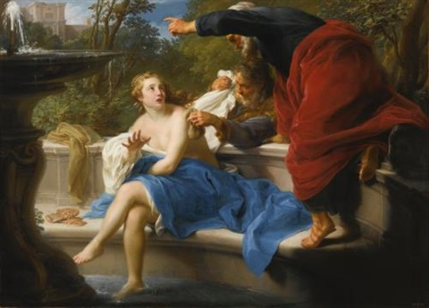 susanna and the elders by pompeo girolamo batoni