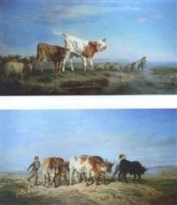 le retour du troupeau by françois simon