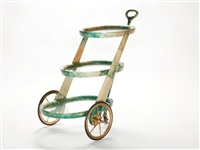 tea trolley by aldo tura
