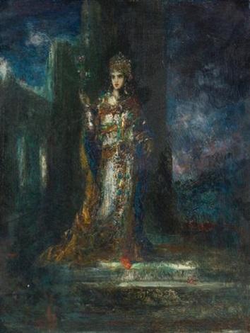 la fiancée de la nuit also known as le cantique des cantiques by gustave moreau