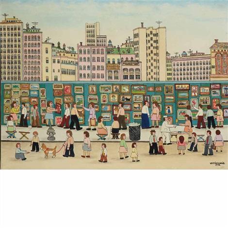 new york city street art show by vestie e. davis