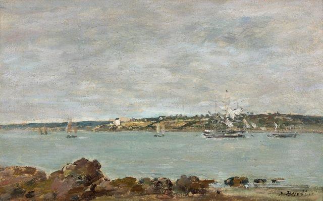bretagne marine by eugène boudin