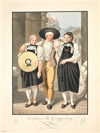 costumes de gouggisberg by johann georg volmar