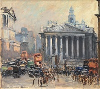 the royal exchange in london by max ahrens