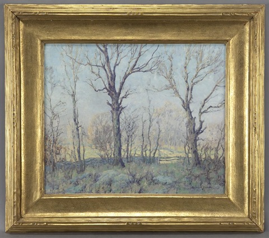 winter landscape by maurice braun