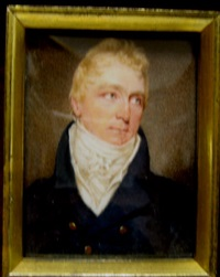 portrait of a gentleman by william john (sir) newton