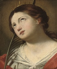 saint catherine of alexandria by francesco de rosa