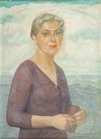 portret teresy kossowskiej by ludomir slendzinski