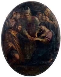 le mariage de la vierge by michel corneille