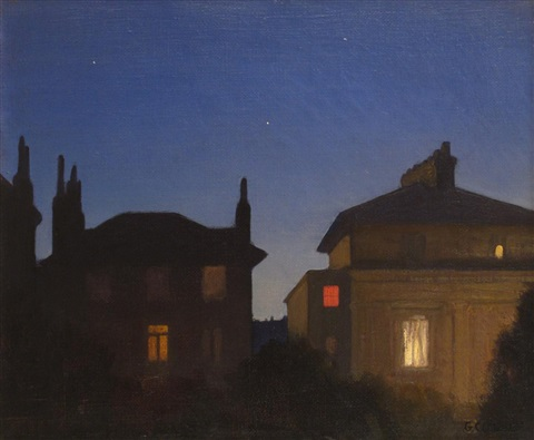 summer night st johns wood by sir george clausen