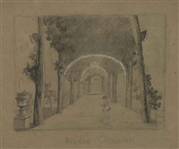 the avenue, cremorne gardens, london by walter greaves