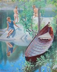 summer idyll by pekka halonen