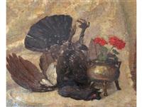bronzino e gallo cedrone by pio solero