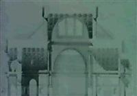 basilika konstantinova v rime - rez pricny by lodovic tacheci