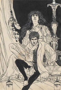 general allegory (from a book of satyrs) by austin osman spare