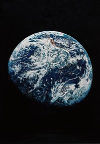 the beautiful earth (from pictures of pigment) by vik muniz