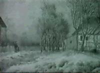 fields in winter by hans heinen