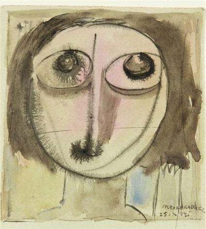 visage by victor brauner