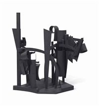maquette for dawn shadows by louise nevelson