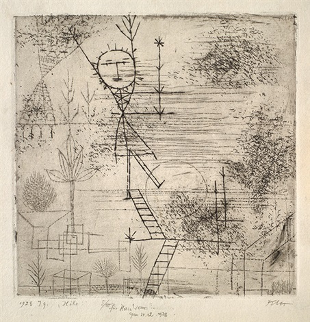 höhe  by paul klee