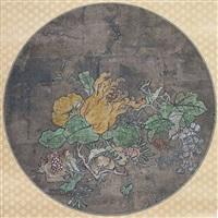 früchtestillleben mit trauben, granatapfel und fingerzitrone by anonymous-japanese (18)