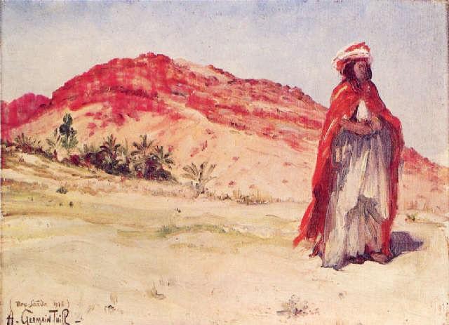 nomade à bou saäda by alphonse léon germain thill