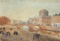 the four courts, dublin, fifty years ago by helen colville