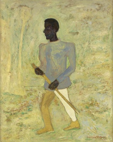 le balayeur by beauford delaney
