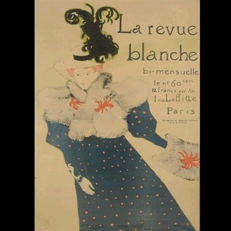 la revue blanche by henri de toulouse lautrec