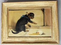 dog by briton riviere