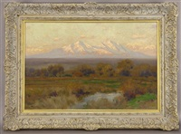 sunrise in autumn by charles partridge adams
