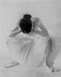 onno sato, ballet russe de monte-carlo by erwin blumenfeld