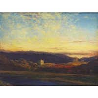 a castle near morvern by david young cameron