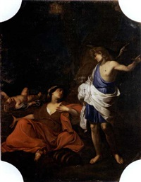 agar e l'angelo by giovanni battista spinelli