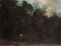 on the mole, surrey by george sant