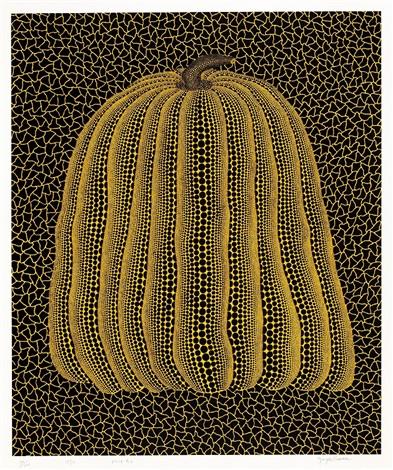pumpkin yellow t by yayoi kusama